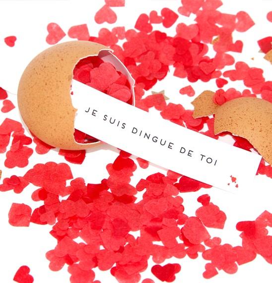 Je suis dingue de toi - et ses confettis !